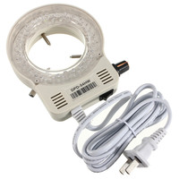 56 LED Adjustable Ring Light For Illuminator Lamp For STEREO Microscope Excellent Circle Light LED Round