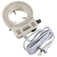 56-LED Verstelbare Ring Licht voor Illuminator Lamp Voor STEREO Microscoop Uitstekende Cirkel Licht LED Ronde Licht