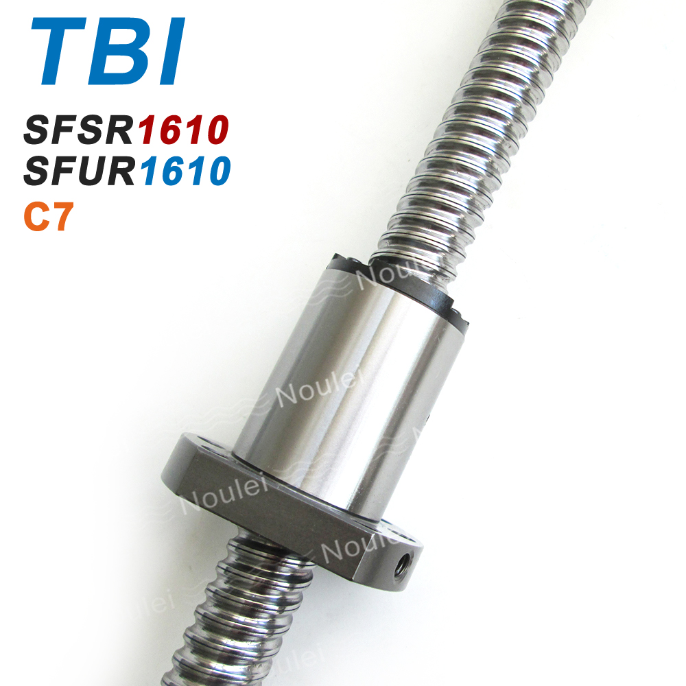 TBI SFS SFU 1610 Ballscrew SFS1610 ROLLED C7 1000mm with Ball Nut SFU1610 10mm Lead for CNC kit set 600mm 1200mm dys mr2205 2700kv brushless motor for multicopter fpv racer quadcopter