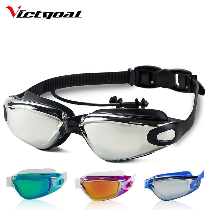 VICTGOAL Men Swimming Goggles Women Swimming Goggles Anti-Fog UV Protection Kid Swimming Eyewear Professional Swim Pool Glasses