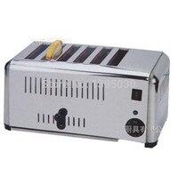 EST-6 Haushalt Automatische Edelstahl von 6 Scheibe Toaster brot  der maschine 220 V 2.5kW 1 PC