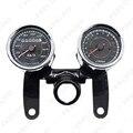 5Set Universal LED Motorcycle Tachometer + Odometer Speedometer Gauge #FD-2523