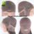 100 Pelo Humano Brasileño Recto Pelucas de Pelo Humano Para Los Afroamericanos Pelucas Delanteras del cordón Con El Pelo Del Bebé Pelucas Llenas Del Cordón Con Flequillo