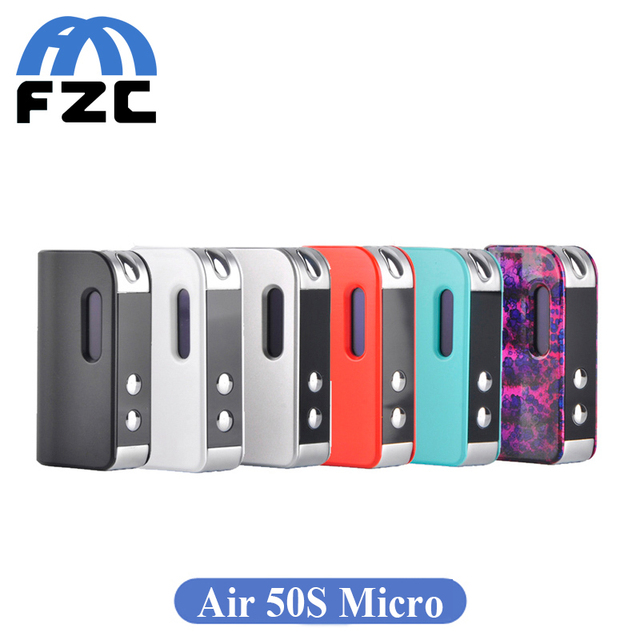 Original cigarrillo electrónico smokjoy aire 50 s micro 50 w caja mod 1400 mah vape de smokjoy batería 510 hilo tanque de aire kit