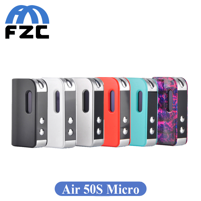 bilder für Original elektronische zigarette smokjoy air 50 s micro 50 watt box mod 1400 mah batterie 510 gewinde vape für smokjoy air tank kit