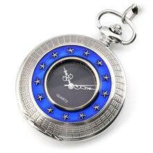 XG439 Steampunk Mechanical Hand Wind Pocket & Fob Watches Men's Watches Women's Pocket Watch Stars Pendant relogio de bolso