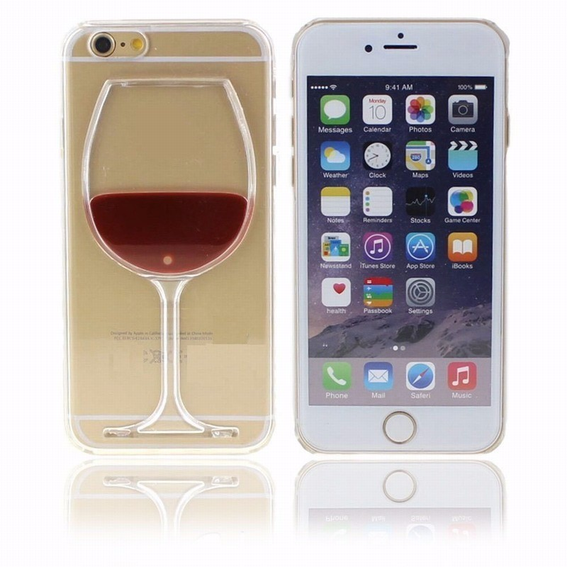 Wine-Beer-Glass-Transparent-Protective-Case-for-iPhone-5-5S-SE-6-6S-Plus-Liquid-Shell (5)