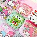 Placa de Serviço De Comida para bebé Bonito Dos Desenhos Animados Crianças Melamina Placa Crianças Louça