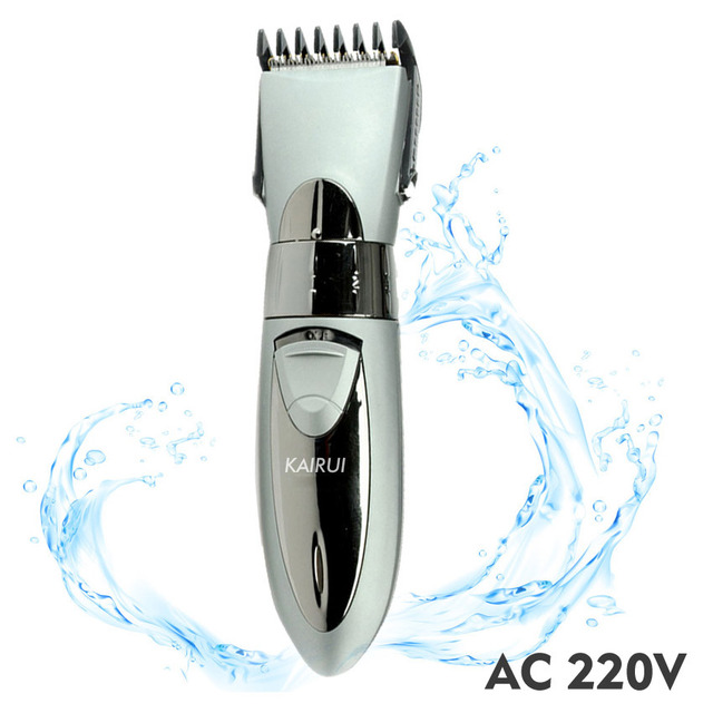 Rechargeable Hair Clipper Set with LED Indicator Antirust Blade Salon Haircut Trimmer Beard Shaver for Men Women Baby
