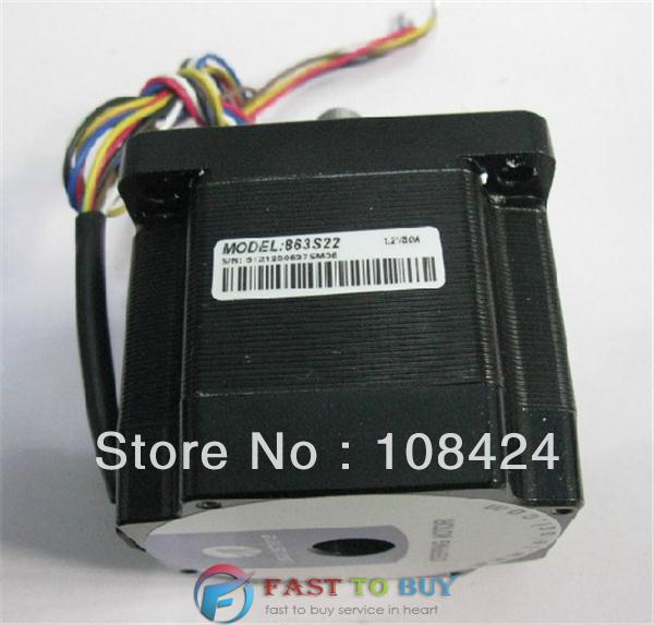 Leadshine 2.0N.M  863S22  3-phase Stepper Motor  NEMA34   Step Angle 1.2 Degrees 5.0A New 3 phrase leadshine 573s15 step motor