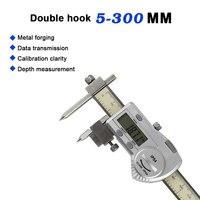 Digital vernier caliper 0.08mm center distance digital caliper 5 300mm stainless steel high precision trammel ruler Schuifmaat