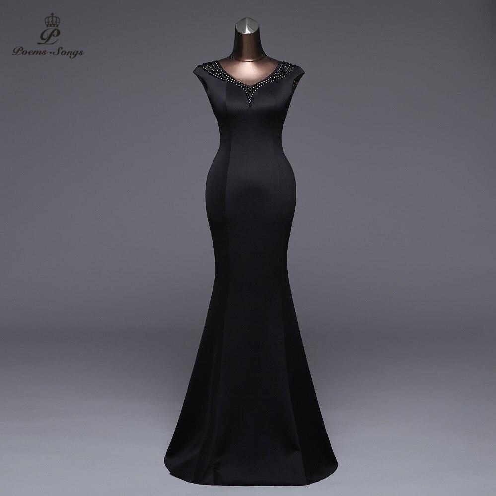Poems Songs2019 Backless Pink Evening Dress Luxury Prom Formal Party Dress Vestido De Festa Elegant Vintage Robe Longue