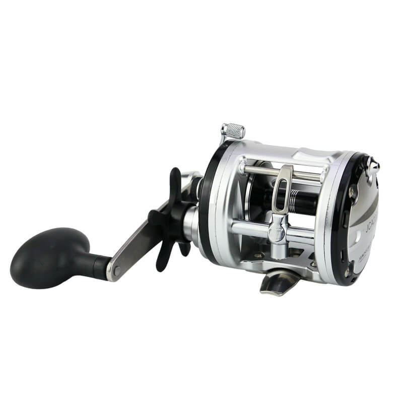 JAC200-500 Right Hand 13BB Drum Fishing Reel Wheel Sea Ice Raft Rod Reel Strong Power Force Trolling Wheel Bait Casting Tackle