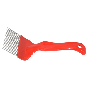 Image 3 - Brand Beekeeping Tool 1PCS Red 21 Straight Needles Uncapping Forks Suitable for Beekeeping Tool Honey Honeycomb Scraper