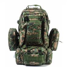 Hohe Qualität 50L Große Kapazität Bagpack Molle Military Rucksack Multifunktionale Wasserdicht Männer Rucksack Rucksack Tasche Für Reise