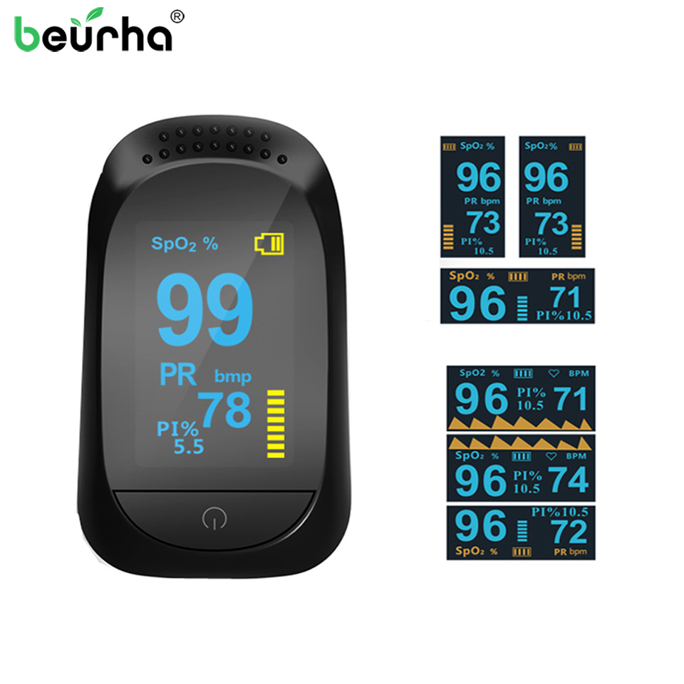 Health Care Fingertip Pulse Oximeter SPO2 PR PI ODI4 Sleep Monitoring Heart Rate Monitor Blood Oxygen/Pressure Diagnostic-Tool oled pulse finger fingertip oximeter blood spo2 pr heart rate monitor