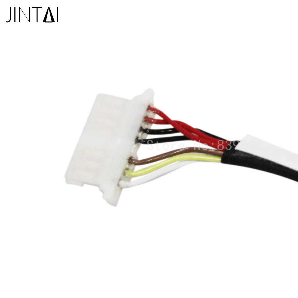 JINTAI DC POWER JACK CABLE FOR HP Spectre X360 13-4105dx 13-4107tu 13-4110ca 13-4003dx 13-4005dx 13-4010ca 13-4020ca 13-4021ca ультрабук трансформер hp spectre x360 13 ae012ur 2vz72ea 2vz72ea
