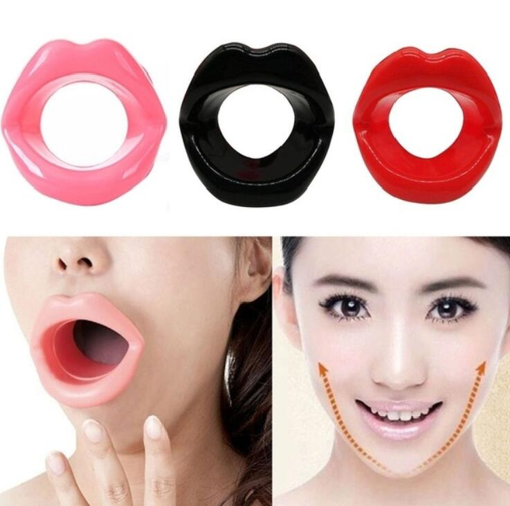 Lips Massage Slim Exerciser Silicone Anti Aging Face Slimming Anti Cellulite Wrinkle Rermoval Women Lip Trainer Face Lift Tools