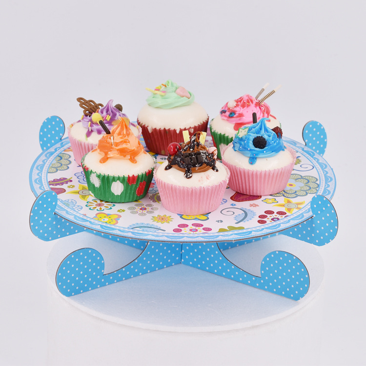 Wedding Dessert Tray Cake Stand Holder Cupcake Pan Cake Display Table Decoration Party Supply Baby Shower Party Favor in Cake Decorating Supplies from Home Garden