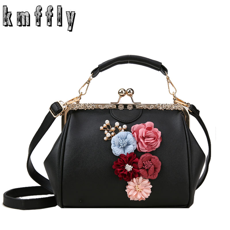 b9749309b4eb 2019 Брендовые женские сумки роскошные сумки женские сумки-мессенджеры с  цветами для девочек модная сумка