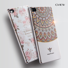 "Huawei p8 phone case Huawei p8 Relief cartoon image painting Silicone 5.2"" back cover"