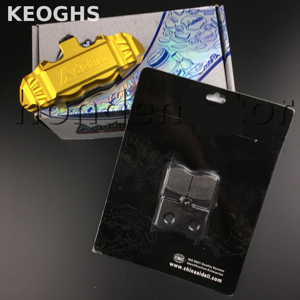 KEOGHS Brake Pad For Adelin Adl14 Caliper Adl-14 For Rrgs Ph80 Brake Leather keoghs real adelin 260mm floating brake disc high quality for yamaha scooter cygnus modify