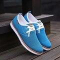Zplover Men Shoes 2017 New Men Fashion Shoes Summer Zapatillas Hombre Casual Breathable Mesh Shoes Comfortable Men's Flat Shoes