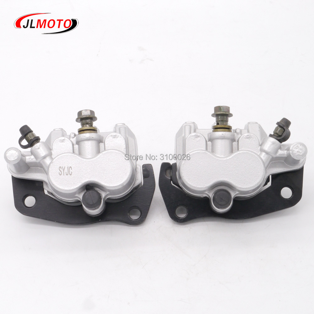 NICHE Front Left Right Brake Caliper Pad Set Pair for 2004-2011 Yamaha Rhino 660 700 5B4-2580T-01-00 5B4-2580U-01-00