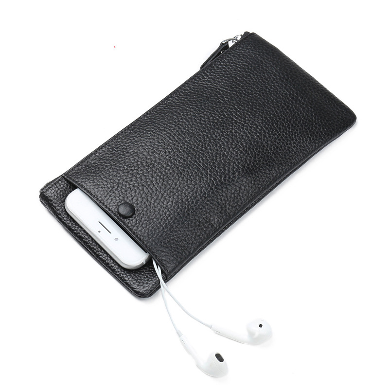 Top Genuine Leather Multifunction men Travel Clutch Long Cowhide Purse Cell Phone Zipper Pocket Large capacity wallet new goods anime sofia the first pu wallet multifunction casual long wallet cell phone clutch purse portable purse