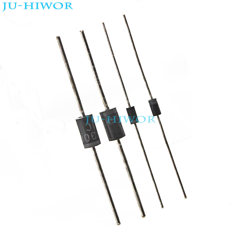 100pcs HER205 2A 400V Fast Recovery Diode DO-15 MIC DIP