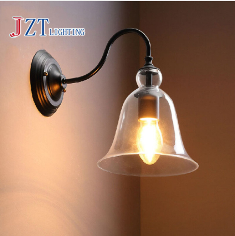 ZYY American vintage style wall lamp indoor lighting bedside lamps wall lights for home diameter 110V/220V E27 american vintage 2 heads wall lamp indoor lighting bedside lamps double wall lights for home 110v 220v e27