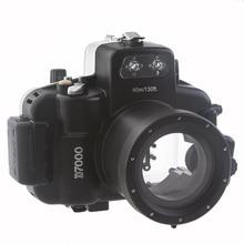 Meikon 40M Waterproof Underwater Camera Housing Case Bag for Nikon D7000