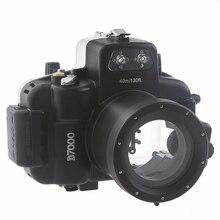 купить Meikon 40M Waterproof Underwater Camera Housing Case Bag for Nikon D7000 Camera дешево