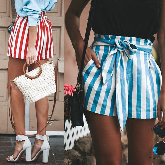 Cotton Seshes Low Waist Shorts