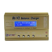 For HTRC Imax B6 V2 80W 6A RC Balance Charger For LiIon/LiFe/NiCd/NiMH/High Power Battery LiHV 15V 6A AC Adapter