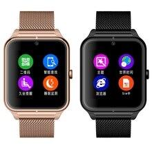 Z50 Smart Uhr Bluetooth Smartwatch Schrittzähler Sport Uhr Fitness Tracker Armbanduhr Inteligente Pulso SIM Tf-karte MP3 Kamera