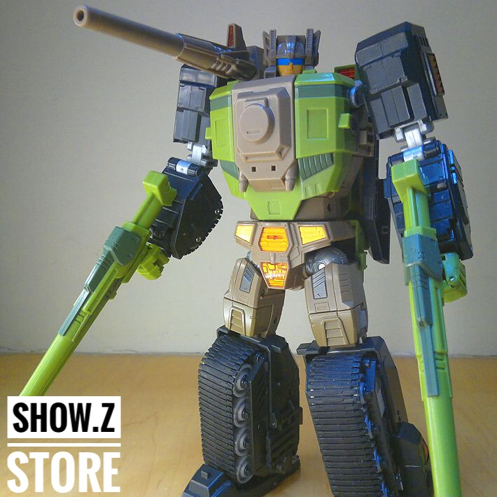 [Show.Z Store] [Pre-order] Yes Model YM12 RF-02 STUBBOM BUFFETT MT IRON WILL Transformation Action Figure [show z store] [pre order] fanstoys ft 28 hydra fans toys transformation figure
