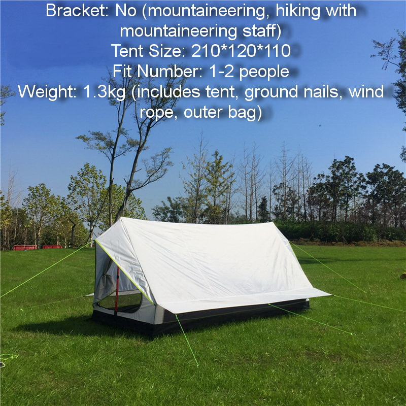 Ultra-light,windproof,rain-proof outdoorcamping tent, high-quality mountaineering hiking convenient Four Seasons two people tentUltra-light,windproof,rain-proof outdoorcamping tent, high-quality mountaineering hiking convenient Four Seasons two people tent