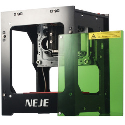 Ugrade NEJE DK-8-KZ 1000mW Laser Engraving Machine Automatic DIY Print Laser Engraver Wood Laser Engraver Off-line CNC Operation