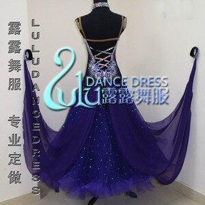 Image 2 - 2016New vestido de baile de salón de competición, Ropa de baile juvenil, vestido de salón de baile de escenario, Vestido de baile de Tango, vestido de salón de baile