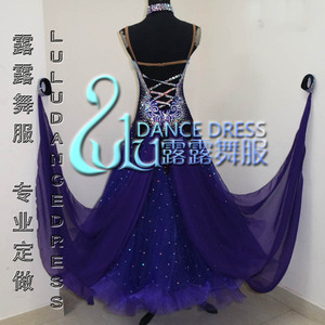 Image 2 - 2016New競技社交ダンスドレス、若年ダンスの服、ステージ社交ドレス、タンゴダンスドレス、社交ドレス