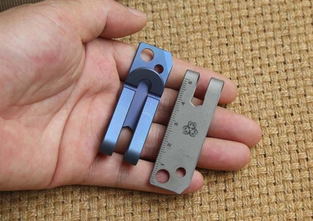 Titanium Multifunction Money Clip + Clamp Tool