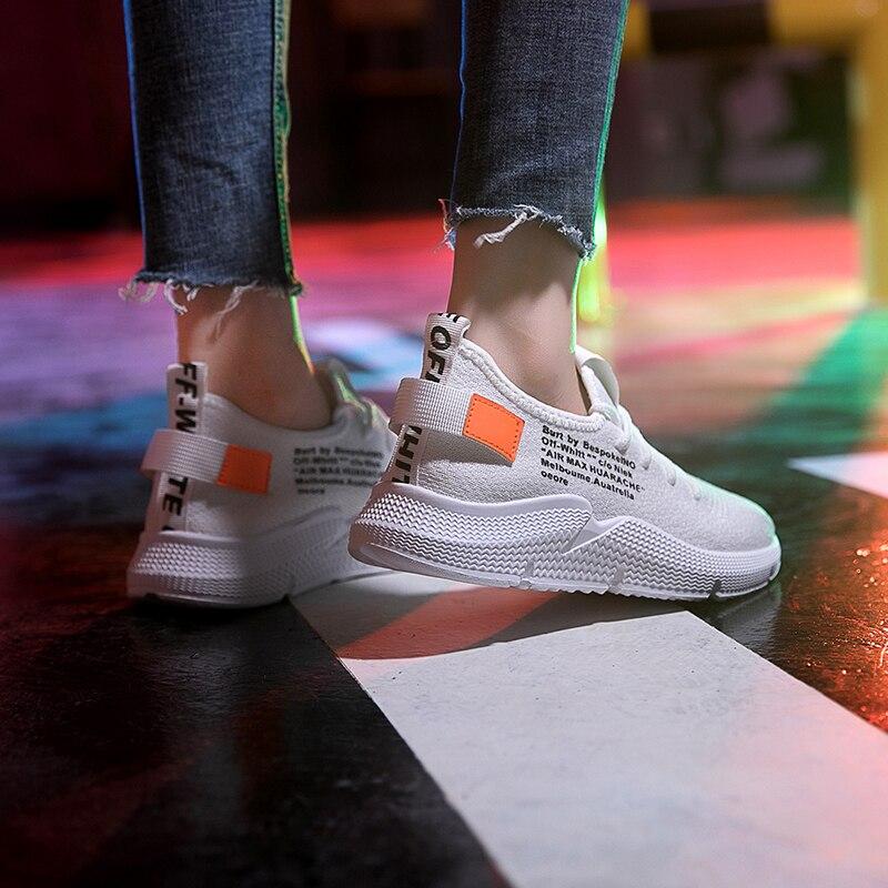 Femmes Tenis Dames De Sneakers Designer En Marche 2018 Air Marque blanc Casual Feminino Amortissement Kjstyrka Plein Mode Antidérapant Noir Chaussures 4L35RjqA