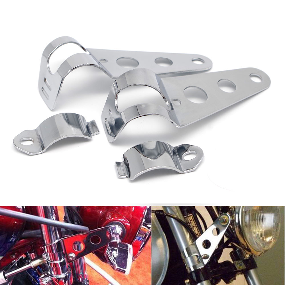 #15 Motorcycle Headlight Bracket For Triumph Tiger 800 Bonneville Motorcycle Street Triple Street Triple 675 Moto Accessories