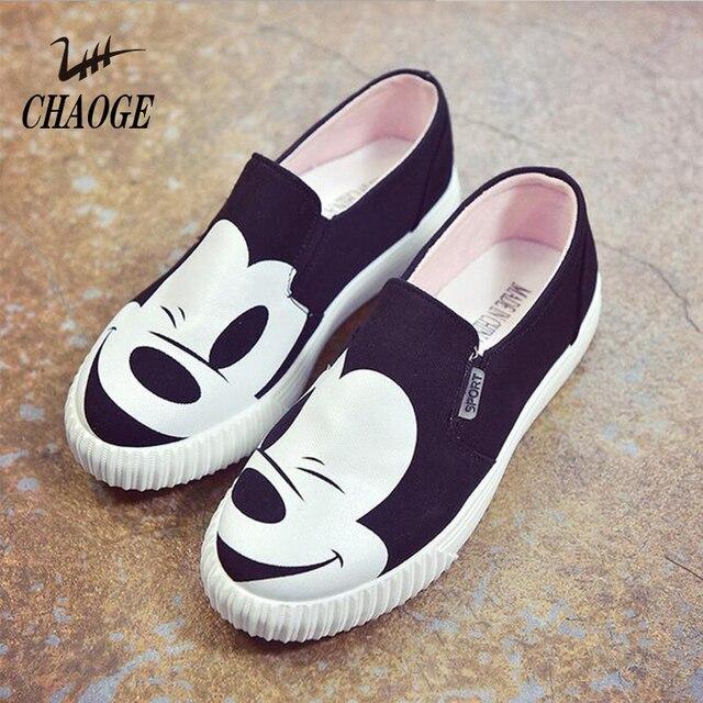 Chaussures femmes simples Appartement avec Slip-on marée Chaussures Chaussures de toile fe7BqAt4