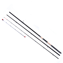 цены 99% Carbon 3.6m 3.9m 3 Section Soft Lure Fishing Rod 2mm diameter Spinning Fishing Rod For Lure Fishing