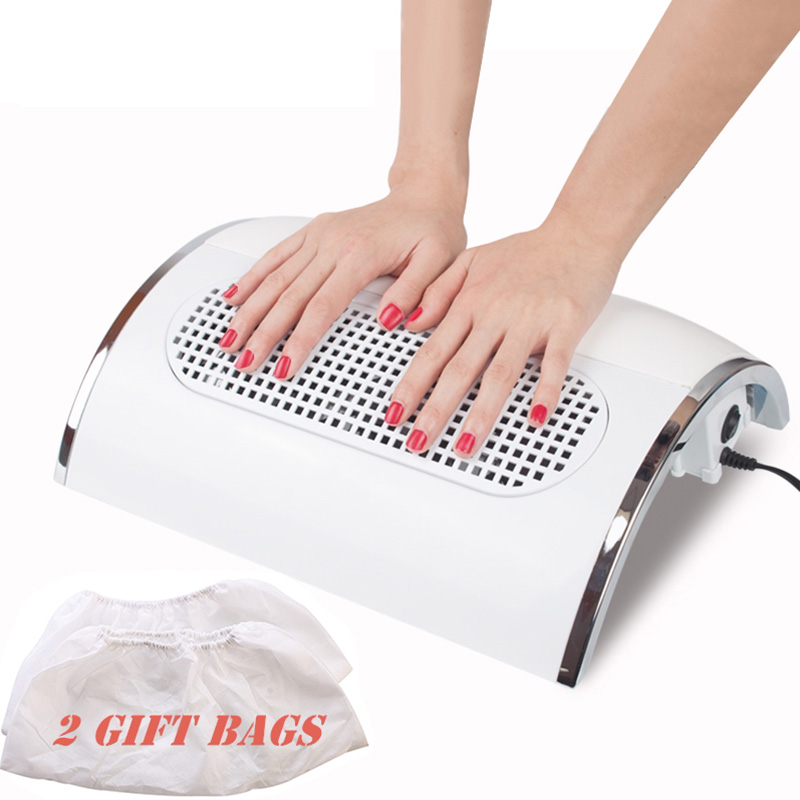 Nail Fan Art Salon Suction Dust Collector Machine Vacuum