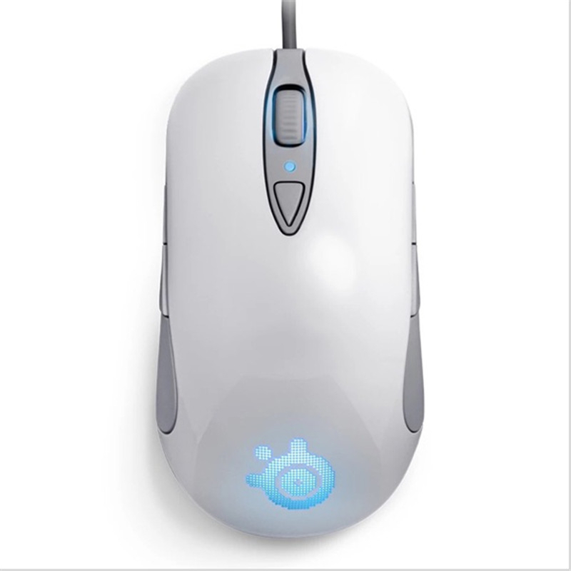 лучшая цена Original Steelseries SENSEI RAW Frostblue Gaming mouse, Steelseries Engine Steelseries Frost Blue Steelseries SENSEI RAW