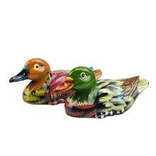 A Pair of  Mandarin Ducks Feng Shui Love & Fidelity