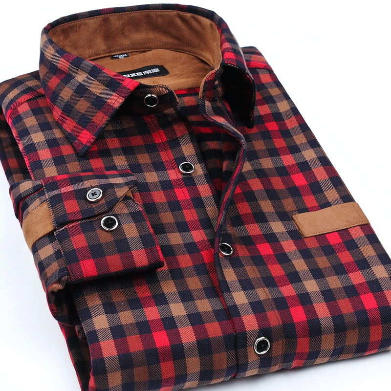 Мужская рубашка 2017 Camisa Masculina